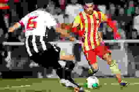 Pedro tỏa sáng, Barcelona đánh bại Cartagena
