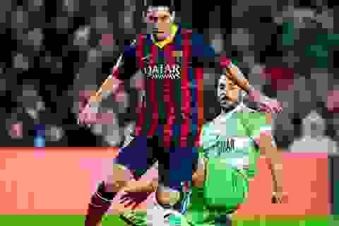 Messi rực sáng trong ngày trở lại, Barcelona đại thắng Getafe