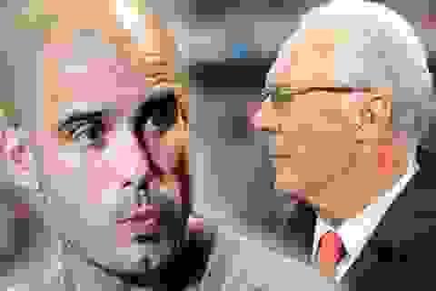 Huyền thoại Beckenbauer chỉ trích Pep Guardiola
