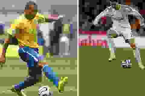 """Màn trình diễn của """"song"""" Ronaldo"""