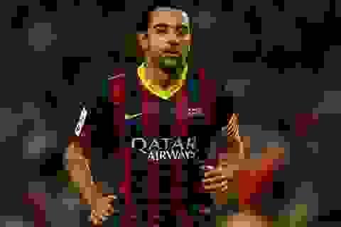 """Raul """"dụ dỗ"""" Xavi sang Qatar chơi bóng"""
