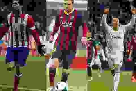 Atletico, Barca và Real Madrid: Chờ đợi màn đua nước rút