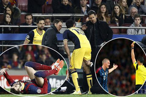 Barca, Atletico và Bayern Munich đồng loạt mất trụ cột quan trọng