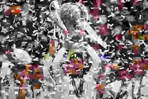 Hình ảnh Real Madrid ăn mừng chức vô địch Champions League