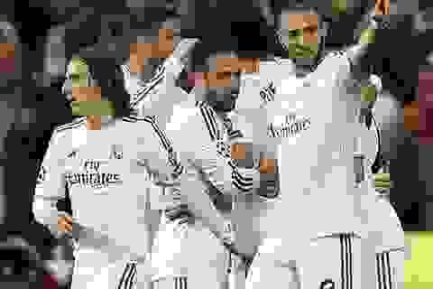 Real Madrid trở lại vị thế kẻ thống trị tại châu Âu
