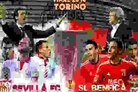 Benfica - Sevilla: Thầy trò Jesus trước cơ hội ăn 4 lịch sử