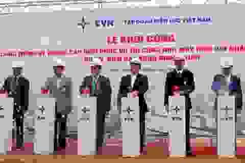 Khởi công hệ thống điện để khởi công nhà máy điện hạt nhân Ninh Thuận