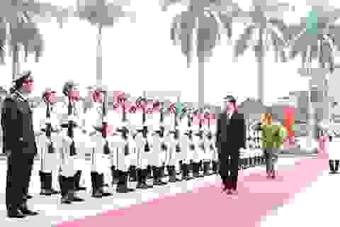 Chủ tịch nước thăm Học viện Cảnh sát nhân dân