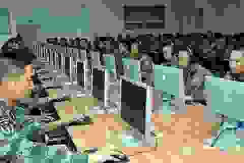 """Trung Quốc """"khoe"""" lần đầu tập trận """"kỹ thuật số"""""""