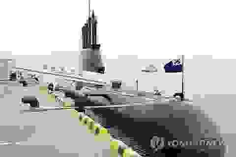 Hàn Quốc hạ thủy tàu ngầm 1.800 tấn thứ tư