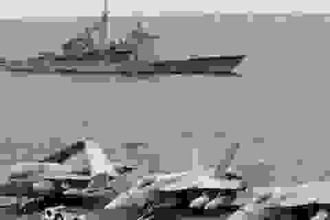"""Vụ tàu chiến suýt đâm nhau: Mỹ tố Trung Quốc """"vô trách nhiệm"""""""