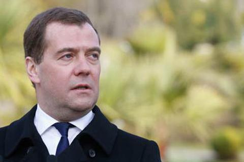Thủ tướng Nga Medvedev thăm Crimea