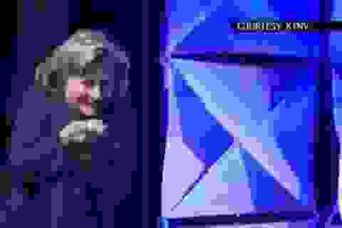 Cựu Ngoại trưởng Mỹ Hillary Clinton bị ném giày