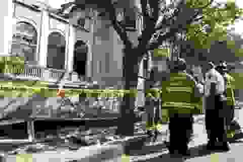 Động đất 7,2 richter rung chuyển thủ đô Mexico