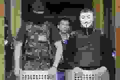 Người biểu tình chiếm thêm một thành phố ở đông Ukraine