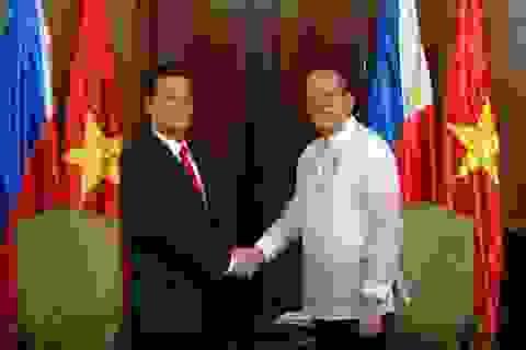 """Giàn khoan Trung Quốc: Tổng thống Aquino lo Philippines là """"nạn nhân"""" tiếp"""