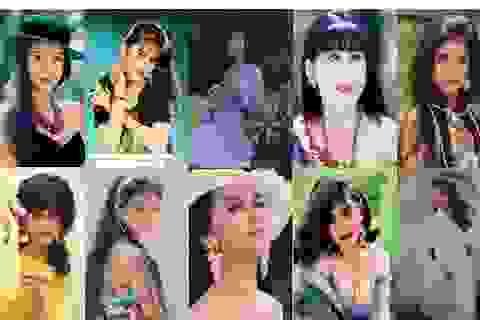 """Nhìn lại 10 mỹ nhân """"đình đám"""" một thời trên màn ảnh Việt"""