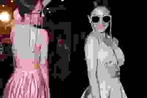 Angela Phương Trinh lại gây sốc với váy áo phản cảm