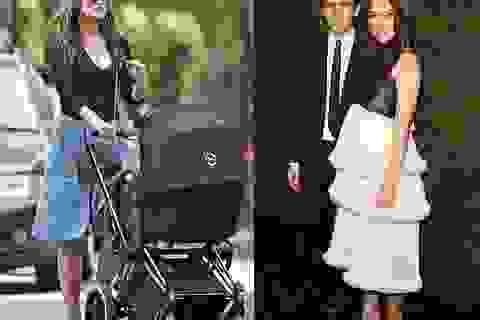 Người đẹp Anh cực thon sau khi sinh con 1 tháng