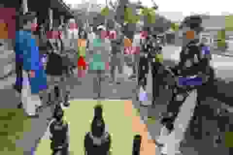 Tái hiện trò chơi tết cung đình xưa tại Huế