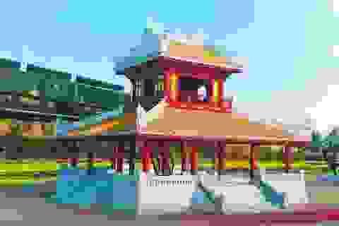 Trùng tu di tích Phu Văn Lâu từng bị sập