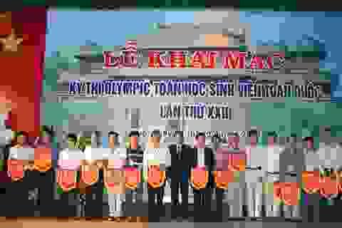 672 thí sinh tham gia kỳ thi Olympic toán học sinh viên toàn quốc