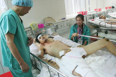 Cứu sống bệnh nhân bị đa chấn thương rất nặng