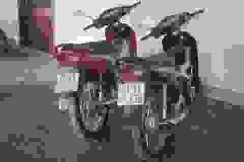 Bắt đối tượng trộm 5 xe máy một ngày
