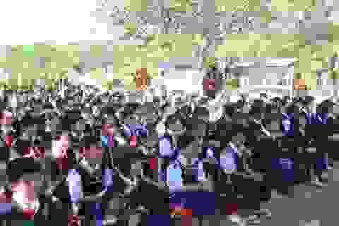 Gia Lai: Hỗ trợ gạo cho 7.508 học sinh