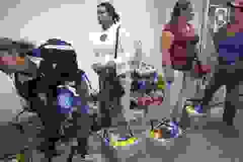 Người Venezuela đi siêu thị cũng phải quét vân tay