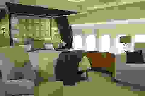 """Cận cảnh """"cung điện bay"""" Boeing 747 VIP"""