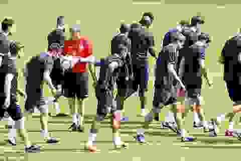 Đội tuyển Anh bắt đầu 'khổ luyện' cho Euro 2012
