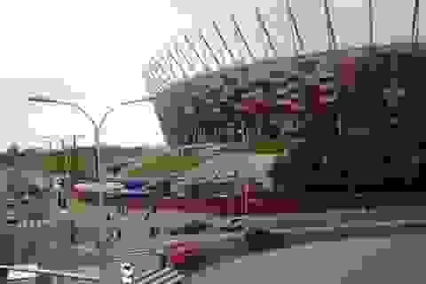Warsaw: 3 ngày trước lễ khai mạc Euro 2012