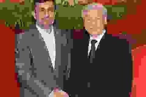 Tổng Bí thư Nguyễn Phú Trọng tiếp Tổng thống Iran