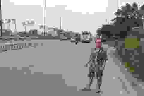 Cảnh sát giao thông bị cướp xe SH giữa đêm khuya