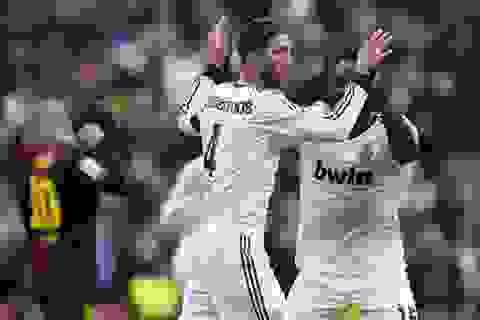 Messi lập công, Barcelona vẫn bại trận trước Real Madrid