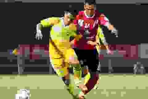 Đánh bại ĐT Long An, SL Nghệ An vững ngôi đầu bảng