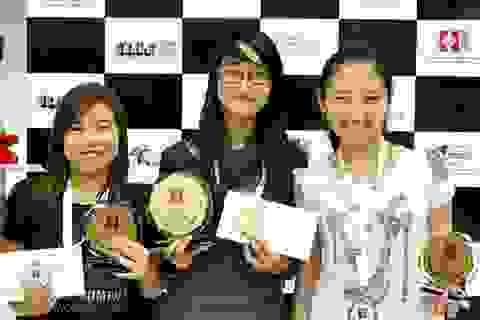 """Kim Phụng đoạt HCV """"kép"""" giải cờ vua U20 châu Á"""