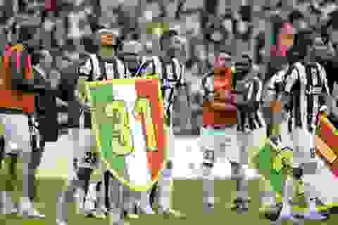 Đánh bại Palermo, Juventus lên ngôi vô địch Serie A