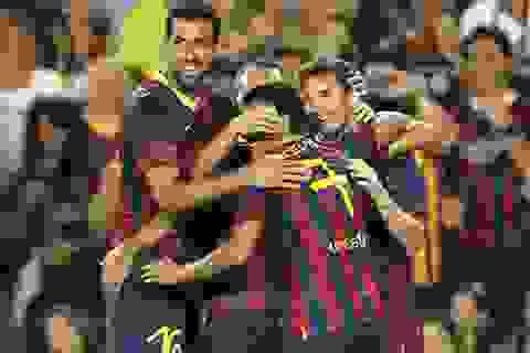 Barcelona hạ Santos 8-0 trong ngày HLV Martino ra mắt