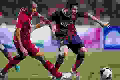 """Barcelona """"hủy diệt"""" đội tuyển ngôi sao Thái Lan 7-1"""