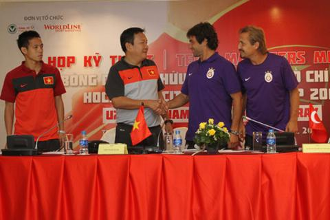 U23 Galatasaray quyết thắng U23 Việt Nam