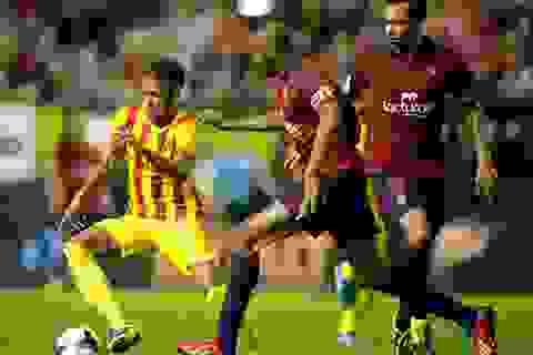 Hòa thất vọng Osasuna, Barcelona chấm dứt mạch trận toàn thắng