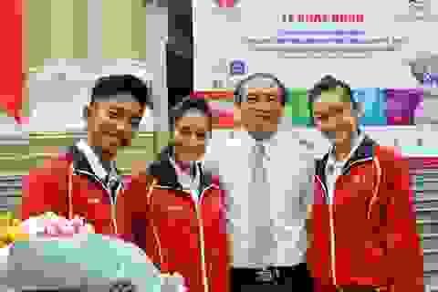 Đoàn Việt Nam có nhà tài trợ trang phục ở SEA Games 27