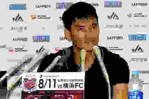 """Công Vinh sẵn sàng """"nổ súng"""" ở vòng áp chót J.League 2"""
