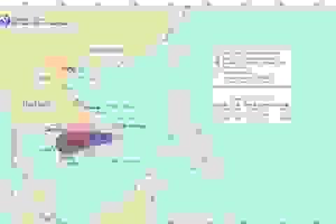 Vào vùng biển nước ta, áp thấp nhiệt đới bất ngờ mạnh thãnh bão