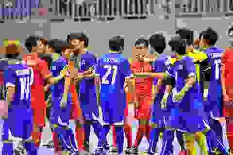 Ẩu đả sau trận chung kết futsal Việt Nam - Thái Lan