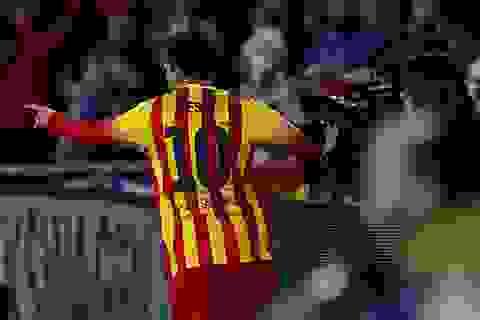 Chiêm ngưỡng pha solo ghi bàn đẹp mắt của Messi