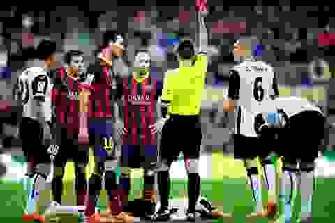 """Barcelona: """"Thảm họa"""" đến từ sự bất lực của hàng thủ"""