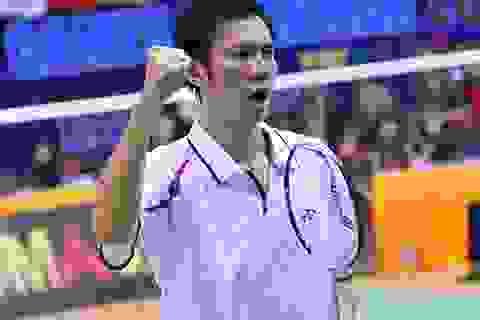 Tiến Minh lội ngược dòng vào tứ kết giải Hàn Quốc
